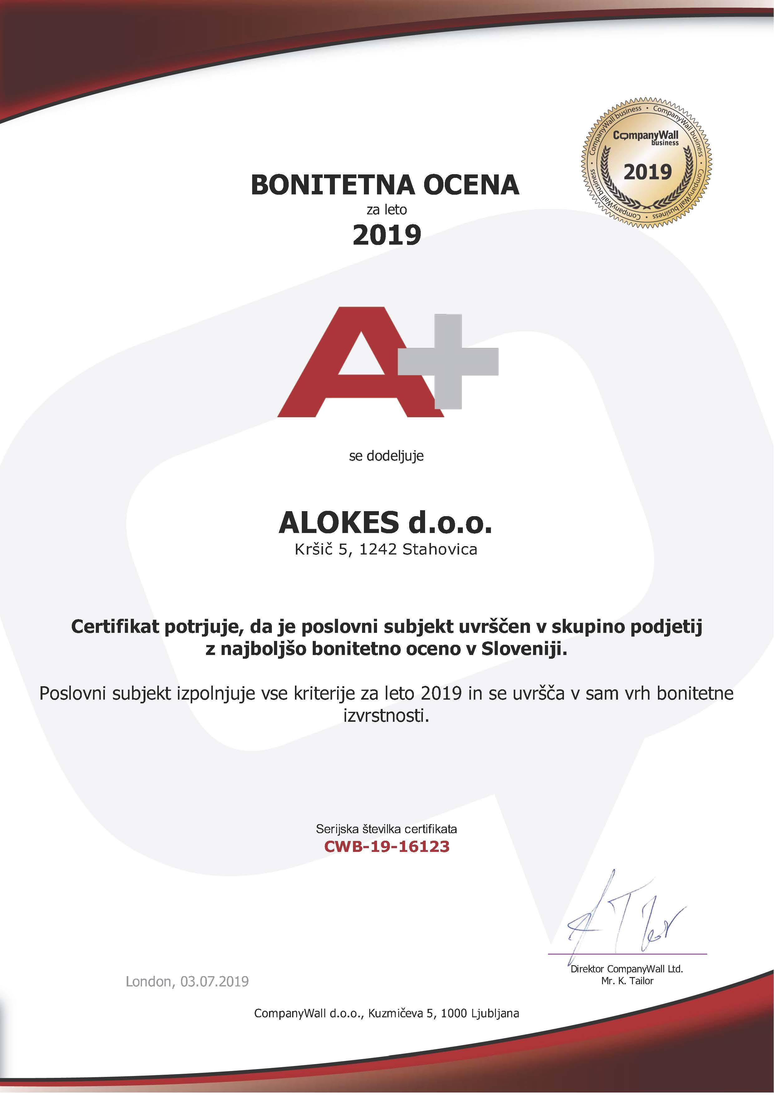 ALOKES d.o.o.